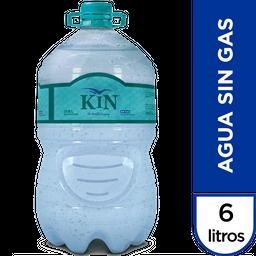Agua Mineral Sin Gas Kin 6 L