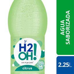 Agua H2Oh! Citrus 2.25L