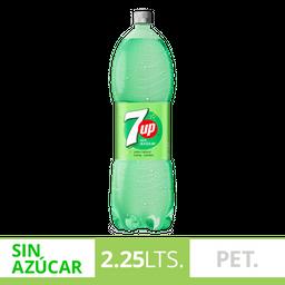 Gaseosa 7Up Sin Azucar 2.25L