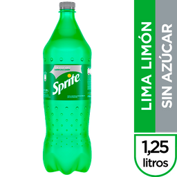 Gaseosa Sprite Sin Azúcares 1.25 L