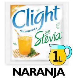 Clight Jugo Stevia Naranja