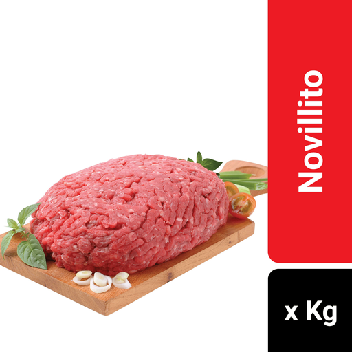 Carne Picada Especial De Novillito