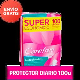 Carefree Protectores Diarios Todos Los Dias 100 U