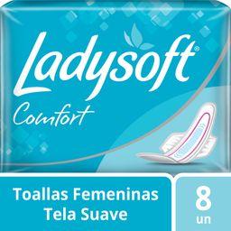 Ladysoft Toallitas Confort Normal Con Alas