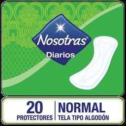 3x2 Protectores Diarios Nosotras Normal 20 U