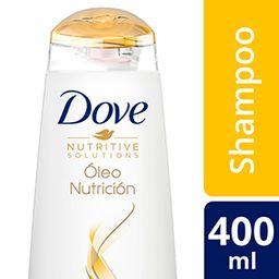 Dove Shampoo Óleo Nutrición