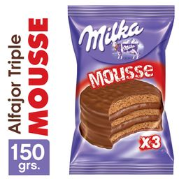 Alfajor Milka Triple Mousse 55Grs