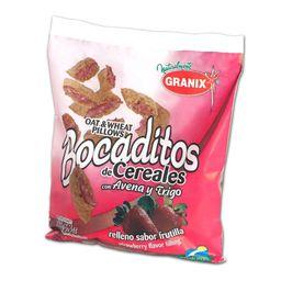 Granix Bocaditos de Cereal Con Avena y Trigo Frutilla