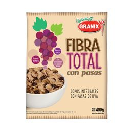 Granix Copos De Cereal Fibra Total Pasas