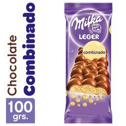Milka Chocolate Leger Combinado
