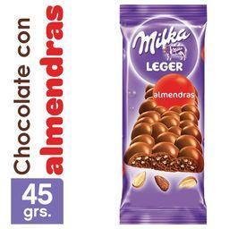 Milka Chocolate Leger Almendra