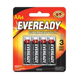 Pilas Eveready Aaa4 Super Heavy Duty 4 U