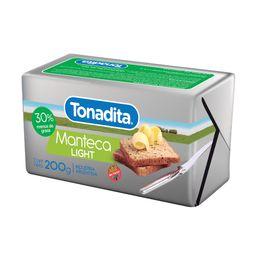 Manteca Light Tonadita 200 G