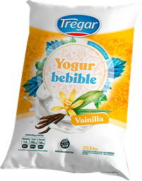 Yogur Bebible Entero Tregar Vainilla 1 Kg