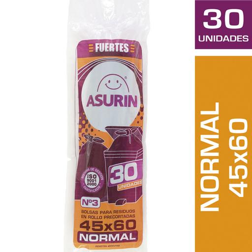 Asurin Bolsa De Residuos Ro45X60 Paq