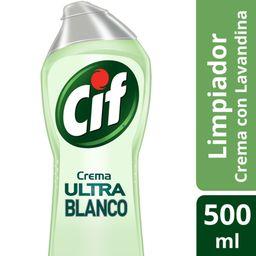 Cif Cremoso Limpiador Ultra Blanco