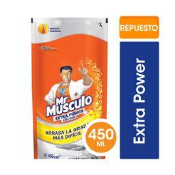 Mr Musculo Limpiador Liquido Antigrasa Extra Power