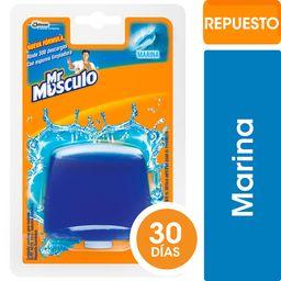 Mr Musculo Canasta Para Inodoros Líquida Repuesto Marina