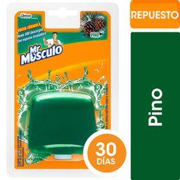 Mr Musculo Canasta Para Inodoros Líquida Repuesto Pino