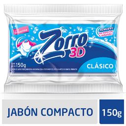 Zorro Jabón En Pan 3D Clásico
