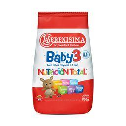 Leche En Polvo Infantil La Serenísima Baby Etapa 3 800 G