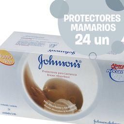 Protectores Mamarios Johnson'S Baby 24 U