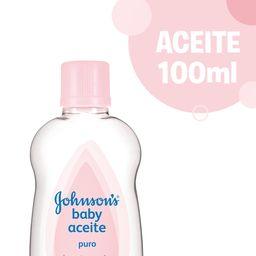 Aceite Johnson'S Baby Puro 100 Ml