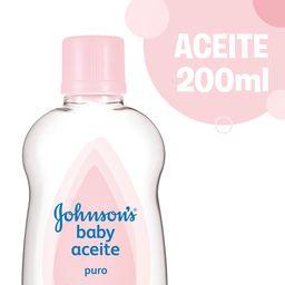 Aceite Johnson'S Baby Puro 200 Ml