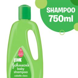 Shampoo Johnson'S Baby Claro Agua Purificada 750 Ml