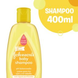 Shampoo Johnson'S Baby Gold 400 Ml