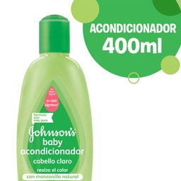Acondicionador Johnson'S Baby Cabello Claro 400 Ml