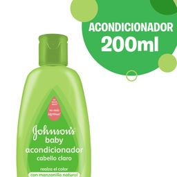 Acondicionador Johnson'S Baby Cabello Claro 200 Ml