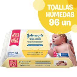 Toallitas Húmedas Johnson'S Baby Desde El Primer Día 96 U