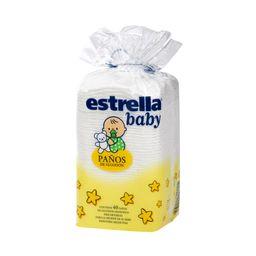 Algodón Estrella Baby En Paños 40 U