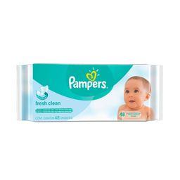Pampers Fresh Clean Toallitas Limpiadoras Húmedas 48 Unidades