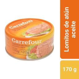 Carrefour lomitos de atún en aceite