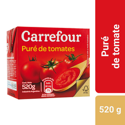 Carrefour puré de tomate