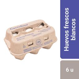 Carrefour Huevos Blancos