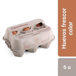 Carrefour Huevos Color Extra