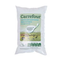Leche Descremada Carrefour 1 L