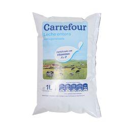 Leche Entera Carrefour Sachet 1 L