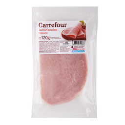 Jamón Cocido Feteado Carrefour 120 G