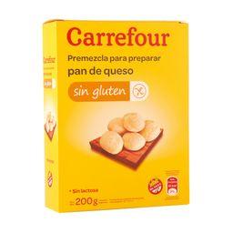 Premezcla Para Pan De Queso Carrefour 200 G Sin Tacc