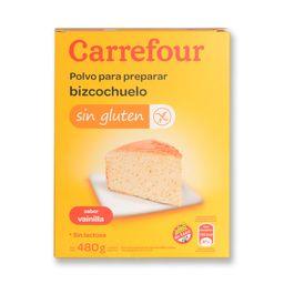 Premezcla Para Bizcochuelo Carrefour Vainilla 480 G Sin Tacc