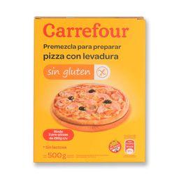 Premezcla Para Pizza Carrefour 500 G Sin Tacc