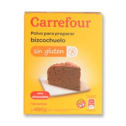 Premezcla Para Bizcochuelo Carrefour Chocolate 480 G Sin Tacc