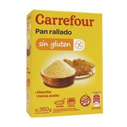 Pan Rallado Carrefour 350 G Sin Tacc