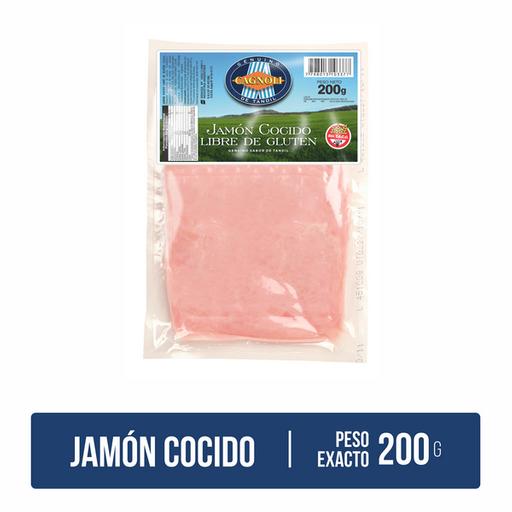 Cagnoli Jamón Cocido Feteado