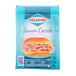 Jamón Cocido Feteado Paladini 200 G