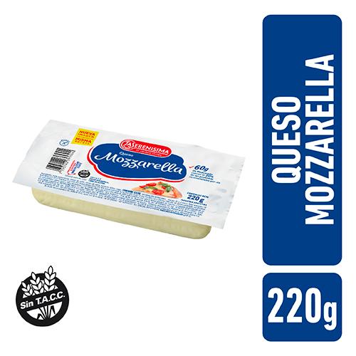 La Serenisima Queso Mozzarella